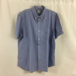 Gap Short-Sleeved Oxford Shirt NWOT S XL